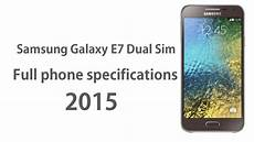 samsung galaxy e7 full phone specifications 2015 youtube