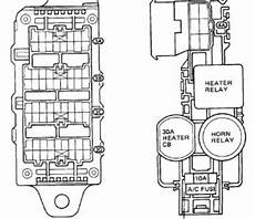 1988 toyota camry fuse box diagram image details technical car experts answers everything you need 1988 toyota camry fuse box layout