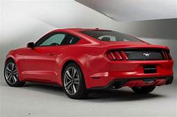 Specs On 2015 Ford Mustang