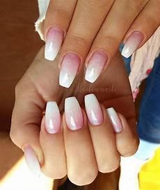 Nägel Glitzer - baby boomer crystalnails gel gelnails nail nails