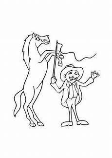 ausmalbilder zirkuspferd pferde malvorlagen