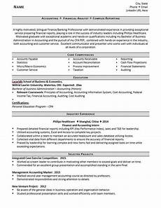entry level accountant resume exle 5 tips zipjob