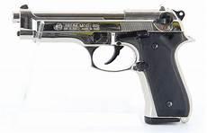 pistolet à blanc pistolet bruni m92 nickel 233 224 blanc 9mm bruni arme de defense 224 blanc