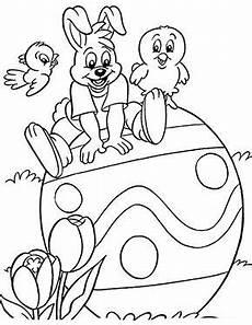 Osterhasen Malvorlagen Text Kostenlose Ausmalbilder Ostern Osterhase Auf Grossem Ei
