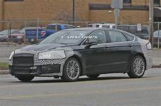 spied ford freshens up 2017 fusion mondeo facelift could