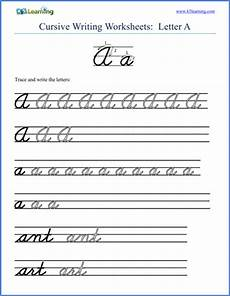 free alphabet handwriting worksheets a to z 21684 free cursive alphabet worksheets printable k5 learning
