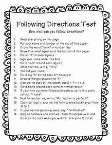 following directions worksheets grade 7 11701 pin on bell ringers