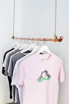 Diy Ideen Wohnen - diy kleiderstange aus kupferrohr selber bauen diy