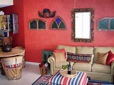 southwestern style living room hgtv