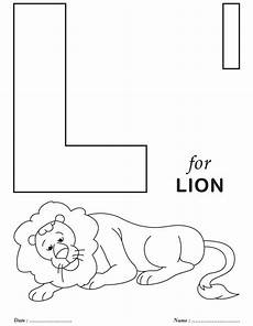 printables alphabet l coloring sheets colouring activity pinterest