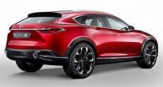 Mazda Cx 6 - visual comparison mazda cx 4 vs koeru concept carscoops