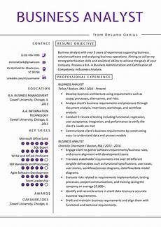 business analyst resume exle writing guide resume genius