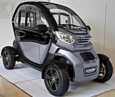 Electric 4 Wheel 2 Seater Car 45km Per Hour