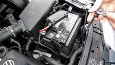 battery removal volkswagen jetta