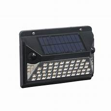 mainstays motion activated solar wall light black walmart com