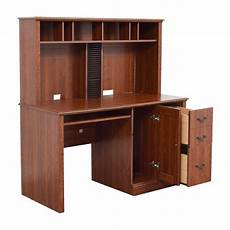 used home office furniture 70 off sauder saunders wood computer desk tables