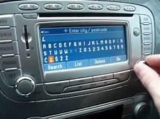 ford blaupunkt travelpilot fx wpisywanie adresu we2012