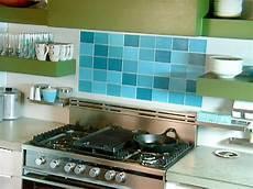 faux glass tile backsplash create a faux tile backsplash diy