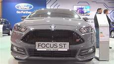 ford focus st 2 0 ecoboost ford focus st 3 2 0 ecoboost 250 hp 2016 exterior and