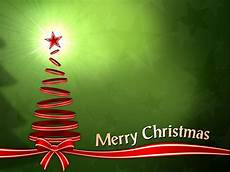 merry christmas with tree ribbons backgrounds for powerpoint christmas ppt templates
