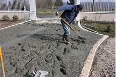 dalle beton pour garage entreprise de ma 199 onnerie dalle de b 233 ton lav 233