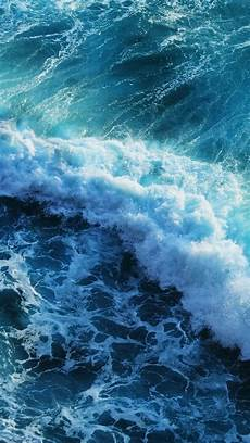 Iphone 6s Blue Wallpaper Background by Beautiful Blue Waves Iphone 6 Plus Wallpaper Wallpapers