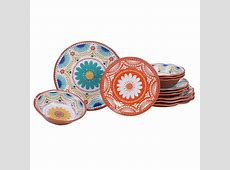 Certified International Morocco 12 Piece Multicolor