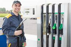 At Work At A Gas Station Stock Image Image Of Fuel