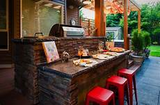 Outdoor Bar Kitchen