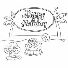 happy summer holidays coloring pages printable 17614 top 50 free printable summer coloring pages