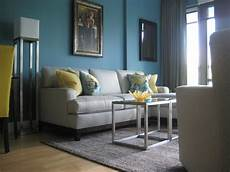 Turquoise Grey Living Room