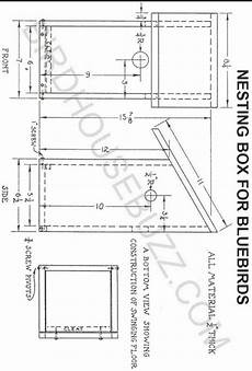 western bluebird house plans free printable bluebird house plans