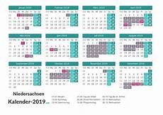 Ferien Niedersachsen 2019 Ferienkalender 220 Bersicht