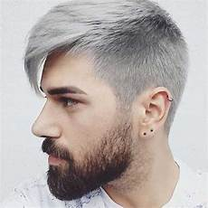 grey hair color on coolest guys on planet mens
