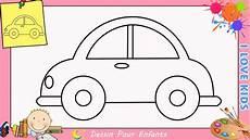 voiture en dessin comment dessiner une voiture facilement etape par etape