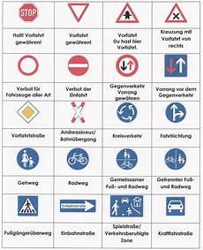 Verkehrszeichen Und Ihre Bedeutung - seitentitel