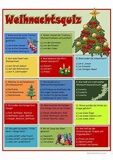 Malvorlagen Weihnachten Kostenlos Quiz Weihnachtsquiz Arbeitsblatt Kostenlose Daf Arbeitsbl 228 Tter