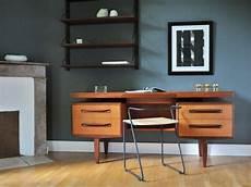 Bureau Vintage Teck Design Scandinave Kofod Larsen G Plan