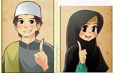 34 Gambar Kartun Muslim Ayah Dan Ibu Koleksi Terpopuler