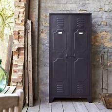 armoire metallique tikamoon armoire en m 233 tal 180 de style industriel pas