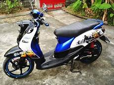 Modifikasi Motor Fino Standar by Modifikasi Motor Yamaha Mio Fino Modifikasi Motor Fino