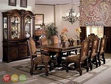 neo renaissance 9 piece formal dining room table furniture ebay