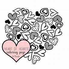 Herz Malvorlagen Ausdrucken Of Hearts Coloring Page Or Printable U Create