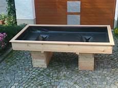 Tischbeet Hochbeet L 228 Rchen Holz Rollstuhl Unterfahrbar