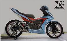 Supra Gtr 150 Modif Touring by Modifikasi Honda Supra Gtr 150 Racing Blue Cxrider