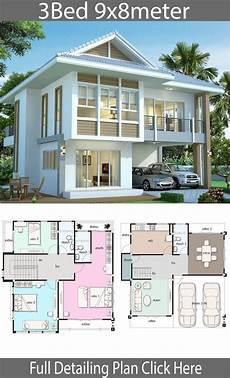 sims 3 modern house plans house design plan 9x8 with 3 bedrooms sims house plans