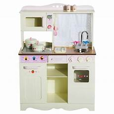 Kitchen Roles by Homcom Wooden Large Kitchen Play Set Learning
