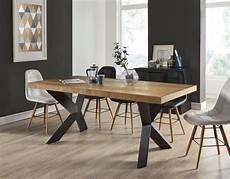 Platon Table 224 Manger De 6 224 8 Personnes Style Industriel