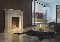 Ein Klassischer Wohnzimmer Ethanol Kamin Der Gern