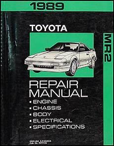 auto manual repair 1985 toyota mr2 free book repair manuals 1989 toyota mr2 wiring diagram manual original